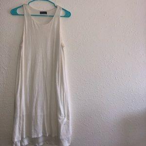 white comfy GAP dress !